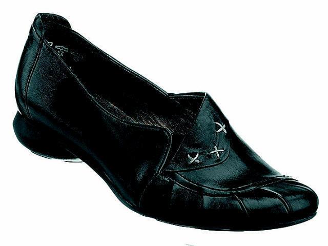 Daherrenchuhe Slipper Halbschuhe Manitu Leder Schuhe Gr.36 schwarz Neu15
