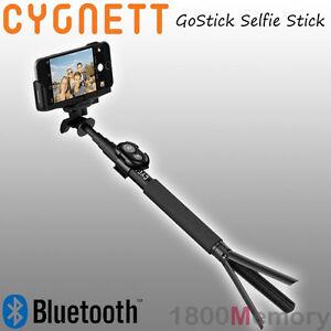 cygnett gostick bluetooth camera selfie stick for gopro apple iphone samsung htc ebay. Black Bedroom Furniture Sets. Home Design Ideas