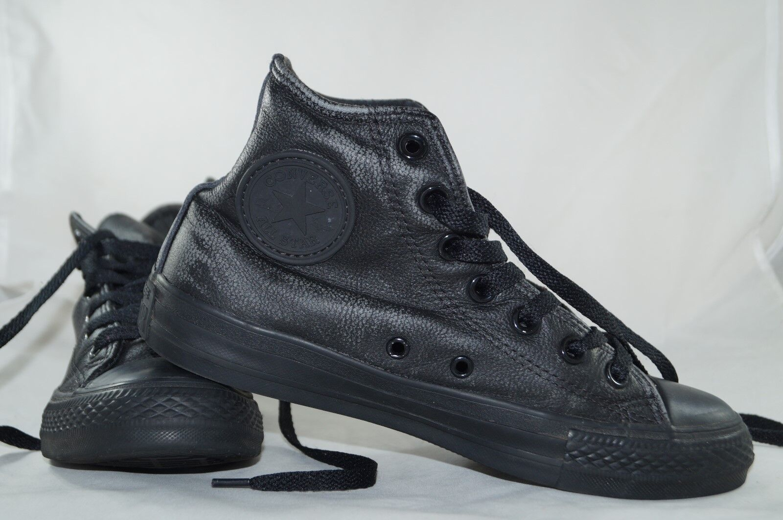 Converse Chucks All Star High Tops Gr: 37,5 Leather Schwarz