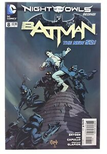 Batman-8-2012-nm-9-2-Night-Of-The-Owls-1st-STANDARD-cover-Scott-Snyder-New-52