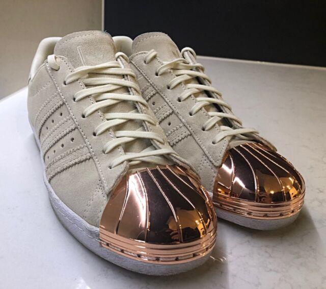 adidas superstar 80s metal rose gold