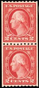 488-Mint-XF-OG-NH-Coil-Pair-With-PSE-Graded-90-Certificate-Stuart-Katz