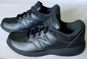 Leather 813 Walking Shoe HD3 Black