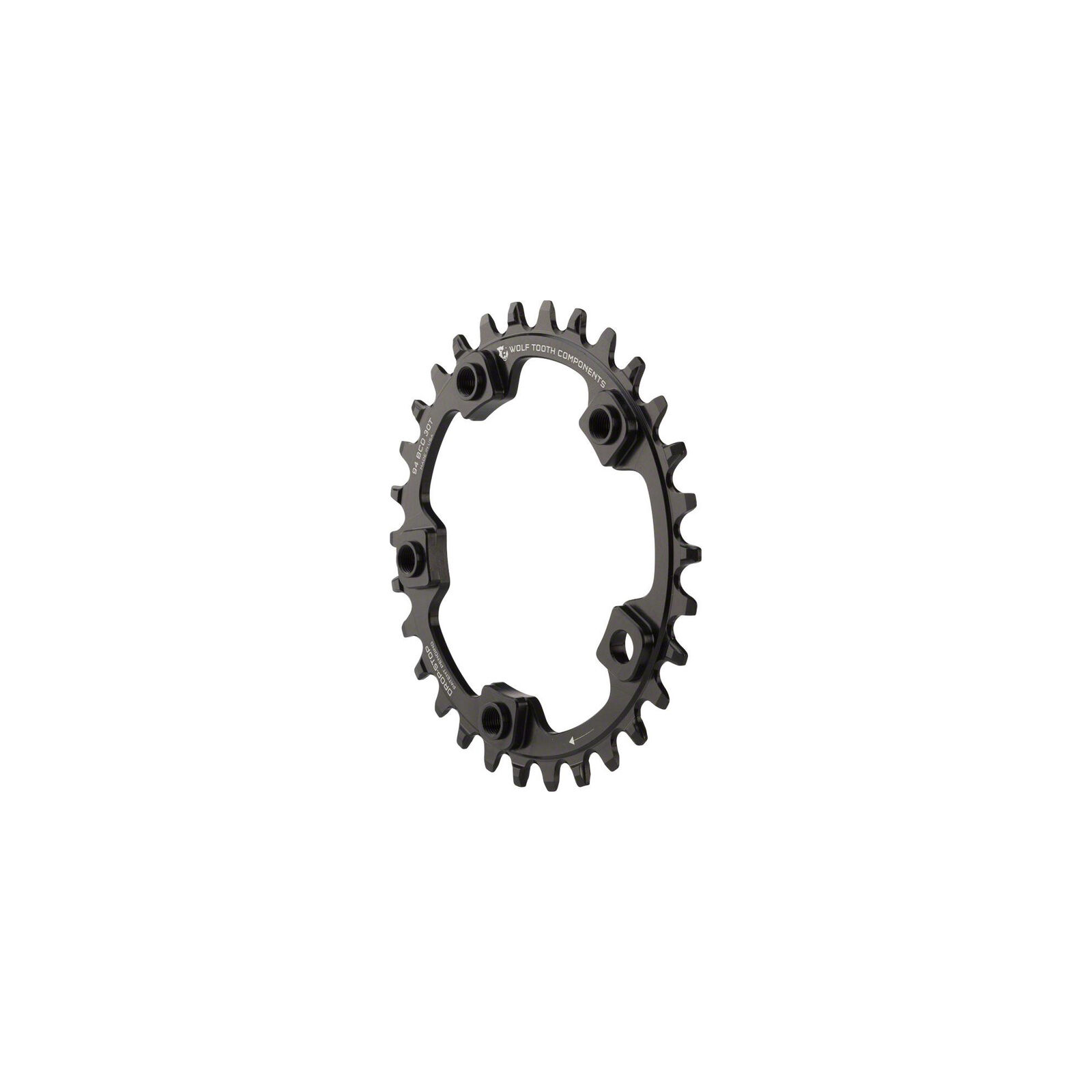 Wolf Tooth Components Drop-Stop Chainring  32T x 94 BCD 5-Bolt