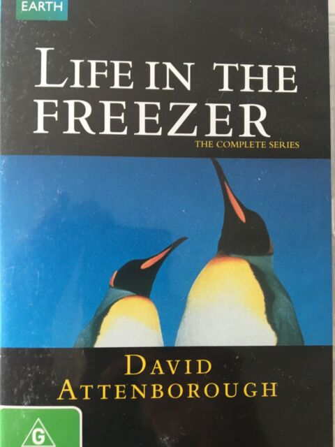 LIFE IN THE FREEZER - Complete Series DVD David Attenborough AS NEW!