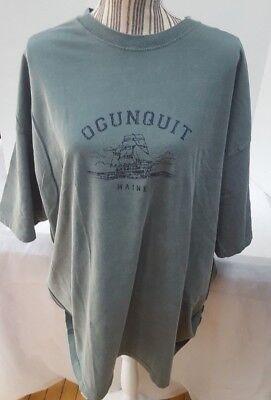 3 Comfort Colori T-shirt Marca Ogunquit Maine 2 Manica Corta 1 Lungo Misura 3x