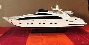 Bateau Yacht Sun Glider En Bois – Maquette 90cm Boat Replica