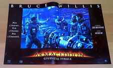 ARMAGEDDON fotobusta poster lobby card Affleck Bruce Willis Liv Tyler Space AB44
