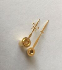 Brass Carriage Clock Hands With Brass Collet 24mm