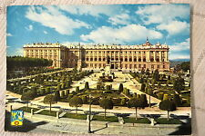 """CPM """" MADRID - Place d'Orient et Palais Royale"""