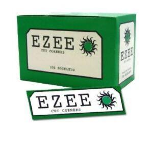 Ezee-Verde-per-Rollare-Carta-Scatola-di-100-Libretti