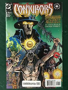 CONJURORS-THE-BIRTH-OF-MAGIC-1-3-COMPLETE-SET-from-DC-COMICS-1999-VF-NM