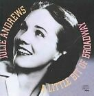 Little Bit of Broadway 0886972443423 by Julie Andrews CD
