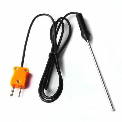 1M Cable Industry Controller K Type Temperature Probe Thermocouple