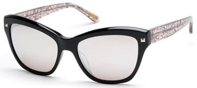 1f3793f5b2 NWT Guess Marciano Sunglasses GM 741 05G Black   Brown Mirror 56 mm GM0741  NIB