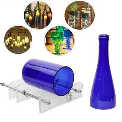 Profi Glas Flaschenschneider Cutter bierflasche runde flaschen wein Bottle DIY Z