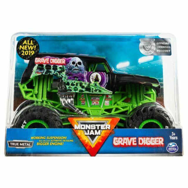 Spin Master Monster Jam 1 24 Grave Digger 2019 For Sale Online Ebay