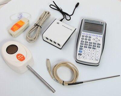 HP 39gs Graphing Calculator & StreamSmart 400 Port +Pressure/Temp/Distance  Probe | eBay