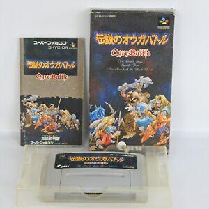 OGRE-BATTLE-Legend-of-Super-Famicom-Nintendo-ccc-sf