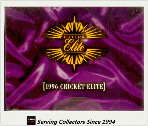 1996 Australia Futera Cricket Elite Trading Cards Factory Box (24 packs)