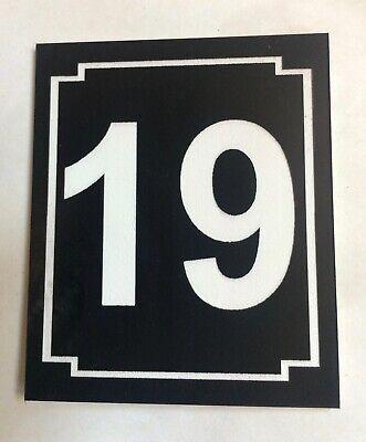 En Blanco Metal Tarjeta 100x50x0.3mm Aluminio Placa para Bricolaje Negro 10uds