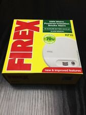 FIREX KF10 Mains Smoke Alarm Detector - Replacement for KF1 4870 1240C 1230C