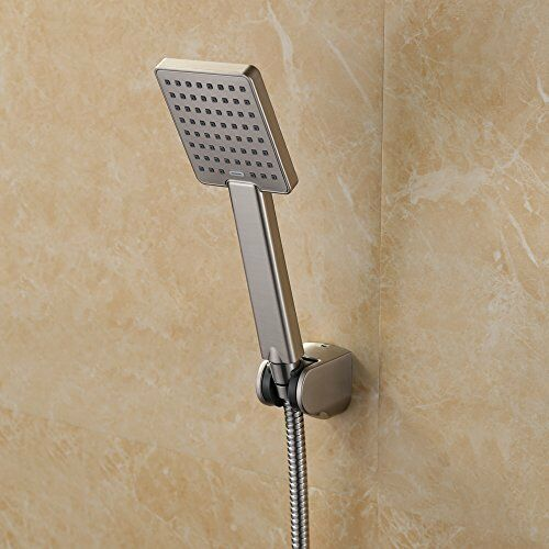 Kes Hand Held Shower Heads Handheld Combo Brushed Nickel With 79 Inch Long Hose Ebay