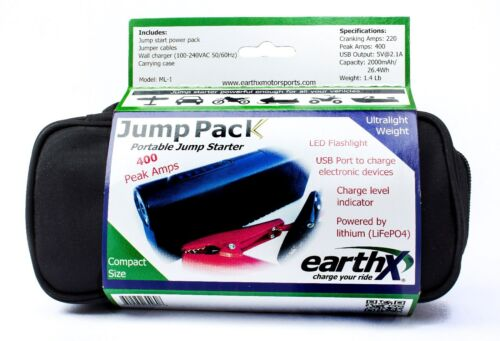 LiFePO4 PORTABLE JUMP START FROM EARTHX!