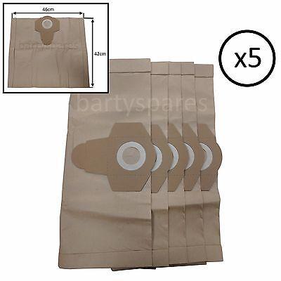 5 x TITAN SCREWFIX 16L 20L 30L 40L AH44 VACUUM CLEANER DUST HOOVER BAGS