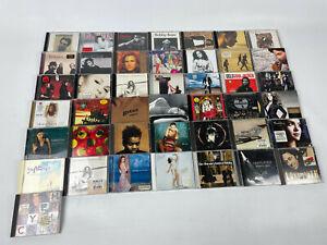CD-Sammlung-Alben-43-Stueck-Rock-Pop-Hits-viele-bekannte-Namen-siehe-Bilder