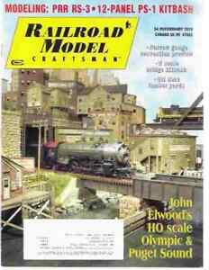 Railroad-Model-Craftsman-Magazine-February-2010-Elwood-039-s-HO-Scale-Olympic-Puget