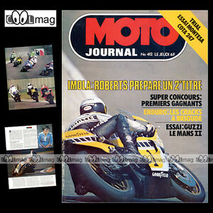 MOTO-JOURNAL-N-412-GUZZI-850-LE-MANS-2-GRAND-PRIX-IMOLA-MONTESA-COTA-247-1979