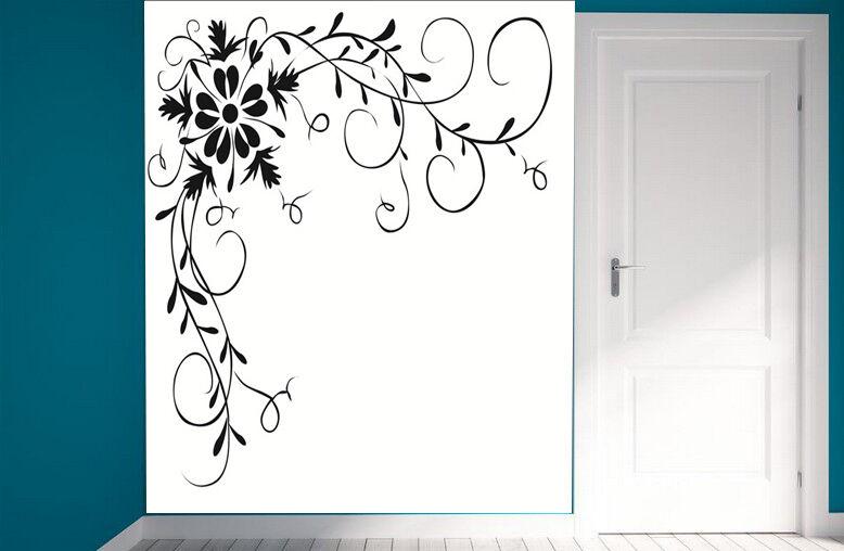 3D Vigne Fleur 313 Photo Papier Peint en Autocollant Murale Plafond Chambre Art