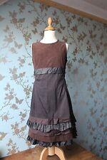 JOTTUM dress/Kleid/jurk/robe SALOUA dark brown sz 152 / 12 years NWT