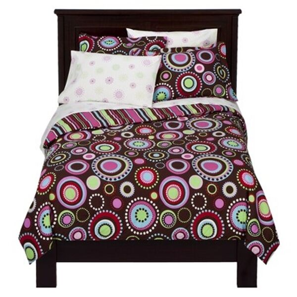 Gypsy FULL Comforter and Sheet Set Bed in a Bag brown multi nwop