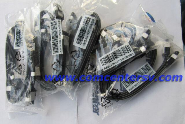 2pcs ASUS SATA Cables  SATA3 6GBs Data 16inch 40cm Original Latch SATA III