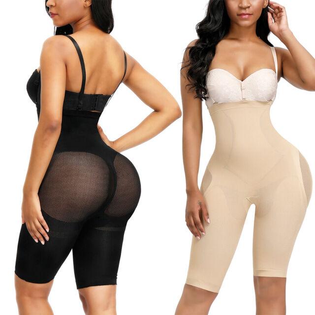 Heavenly Shapewear 9197 Womens Black Mesh Lightweight Butt Shaper ...