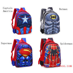 Cartoon-Kindergarten-Pupil-Students-Boys-Kids-School-Book-Bags-Backpacks-5-11Y