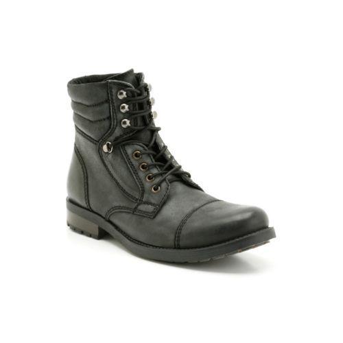 Hombre Russett Boots Negra Clarks Gorra wWxXTAPqq