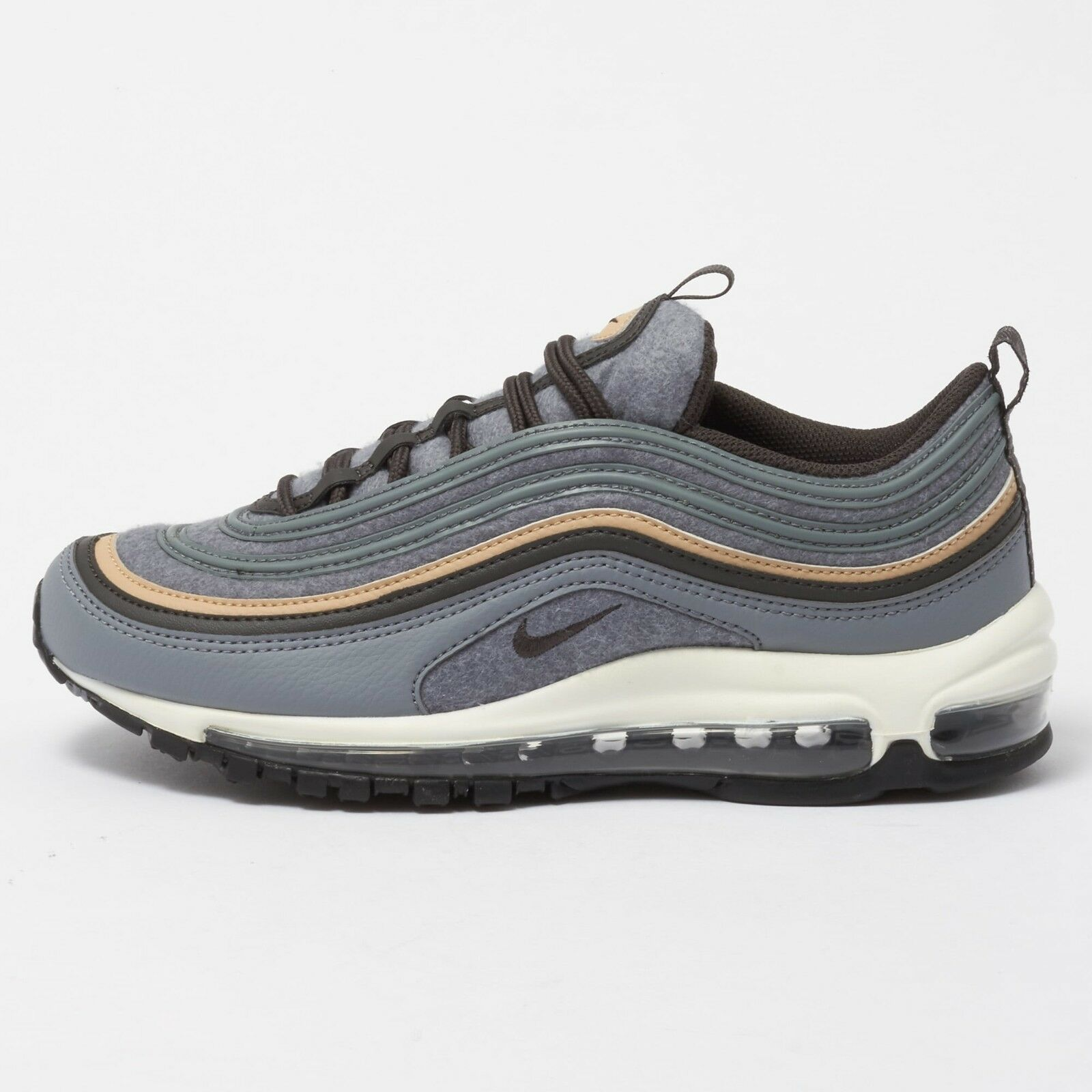 NIKE NIKE AIR MAX '97 Cool Gray Deep Pewter Brown OG '17 312834-003 plus 97 f1 Seasonal price cuts, discount benefits