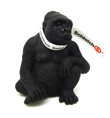 372) Schleich (14197) Gorila Sentado Mono Mono Schleich Animales Schleich Animal Chills And Pains