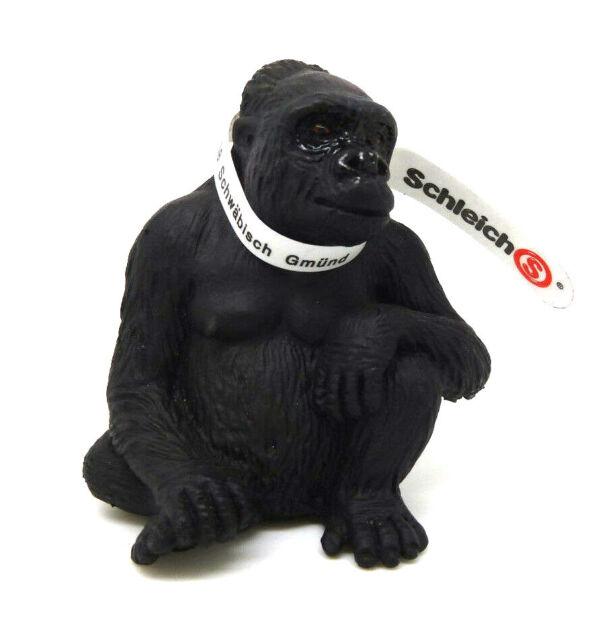 Gorilla sitzend Affe Affen Schleichtiere Schleichtier 14197 372 Schleich