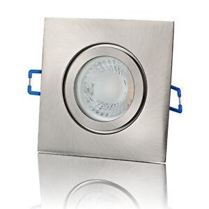 LED Einbaustrahler Badezimmer Deckenspot Außen Feuchtraum Strahler ...