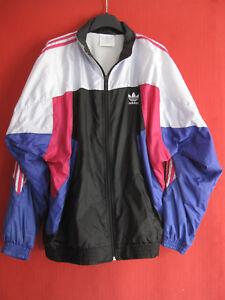 Adidas-Jacket-Nylon-90-039-S-Vintage-Oldschool-polyamide-Jacket-180-L