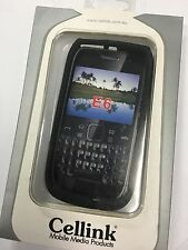 Nokia E6-00 Fitted Silicon Case Cover Black SCC4520BK Brand New in Original Pack