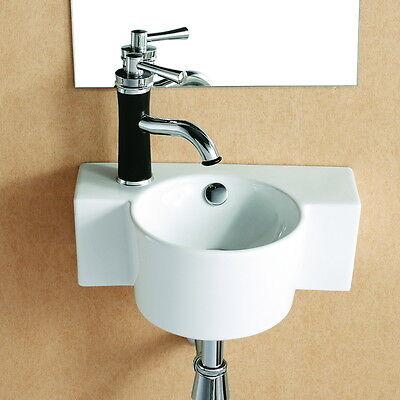 Lux-aqua waschbecken gäste wc handwaschbecken Wandwaschbecken 4413