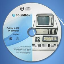 Fairlight CMI IIX - Native Instruments Kontakt Synth Samples - SOUNDBOX CD-ROM