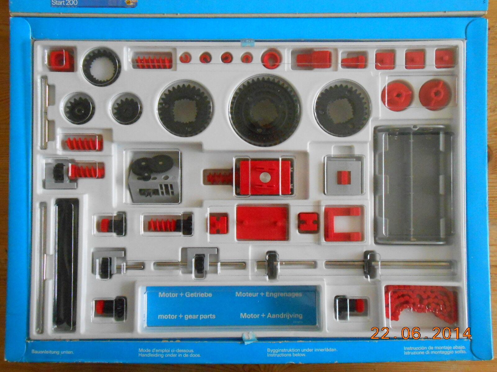 Fischertechnik Motor und Getriebe Baukasten OVP