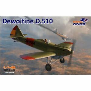 Dora-Wings-48008-Dewoitine-D-510-Spanish-Civil-War-1-48-Plastic-Model-Kit