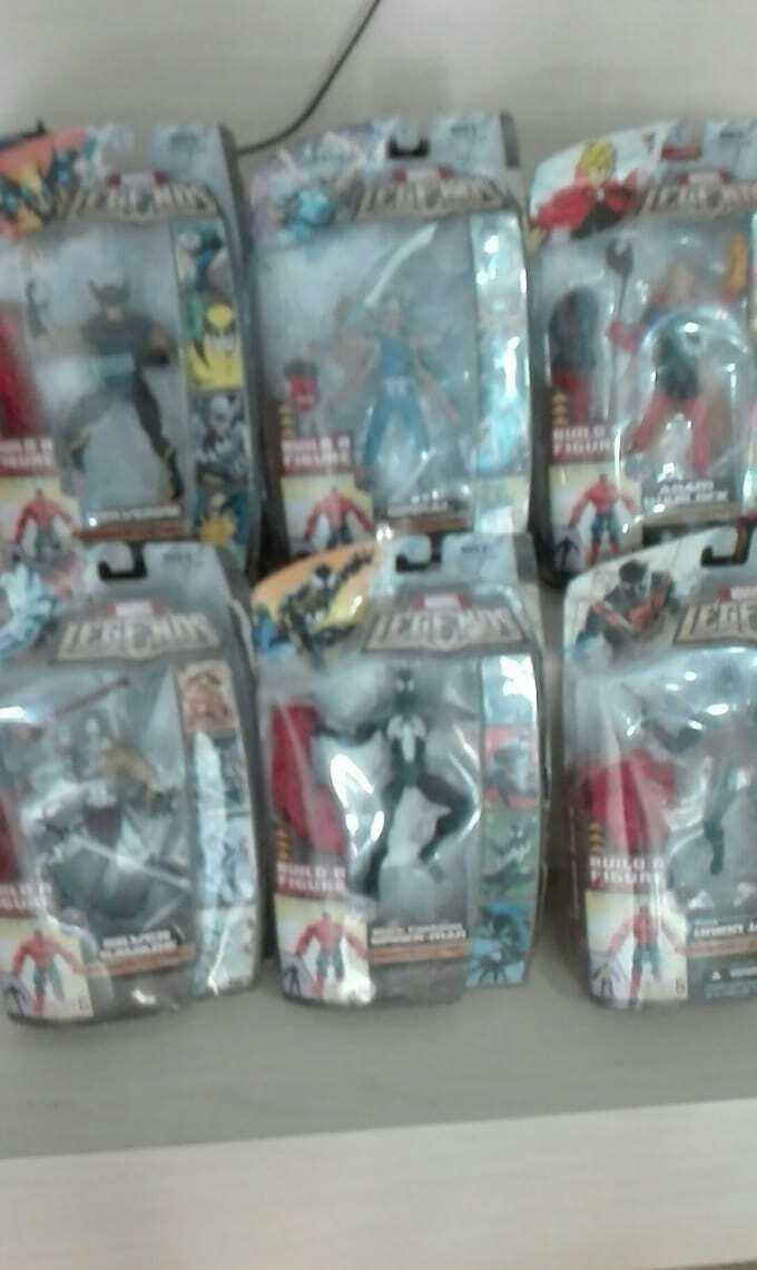 Marvel legends rosso hulk series COMPLETO